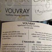"Vouvray ""Cuvée Ancestrale"" 2006 en magnum"
