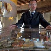 Chariot de fromages décliné par Diégo
