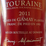 Touraine AOC Vinifera Gamay