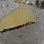 Huître aux fruits exotiques
