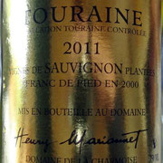 Touraine AOC Vinifera Sauvignon