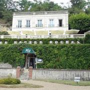 L'entrée et la terrasse