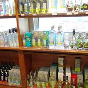 Les alcools et liqueurs à la vente