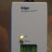 L'éthylotest est à 0,73 g, une nuit aux Hautes Roches s'impose !