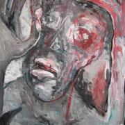 Das Besondere, ca. 100x70cm, Malerei Sandra Hosol, 2012