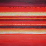 Erinnerung Rot II, Acryl auf Papier, ca. 60x80cm, Sandra Hosol