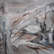 Vergänglichkeit, ca. 70x100cm, Malerei Sandra Hosol, 2009