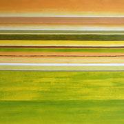 Erinnerung Grün I, Acryl auf Papier, ca. 60x80cm, Sandra Hosol