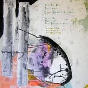Lied, Acryl auf Papier, ca. 100x70cm, Sandra Hosol