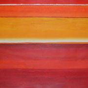 Erinnerung Rot IV, Acryl auf Papier, ca. 60x80cm, Sandra Hosol