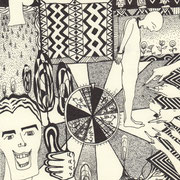 Verurteilt, Tinte auf Papier, ca. 15x21cm, Sandra Hosol
