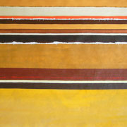 Erinnerung Gold I, Acryl auf Papier, ca. 60x80cm, Sandra Hosol
