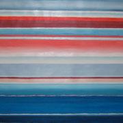 Erinnerung Morgenröte, Acryl auf Papier, ca. 60x80cm, Sandra Hosol