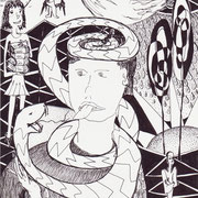 Der Wahrheit verpflichtet, Tinte auf Papier, ca. 15x21cm, Sandra Hosol