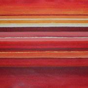Erinnerung Rot III, Acryl auf Papier, ca. 60x80cm, Sandra Hosol