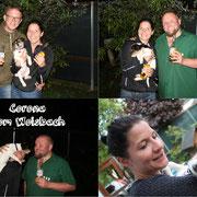 Corona, jetzt Paula, bleibt Gott sei Dank auch in der Nähe und wird treue Jagdbegleiterin von Katrin & Daniel