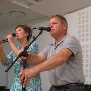 Jacqueline Cornec et Jean-Pierre Kergozou dans un plinn endiablé