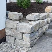 Mauer- und Treppenbau NACHHER