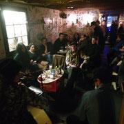 Volles Haus mit Live Session im Madame Chocolat