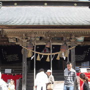 Frontage Shiratori Shrine