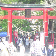 Entrance Shiratori Shrine