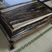 黒柿の座卓