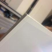Einrahmung; Päckli (Rücken Distanzleiste u. Glas abgeklebt mit Neschen P90