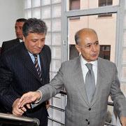 Ankara Bürosu yeni binasının açılışında Sezer'le (Haziran 2008 – Ankara)