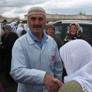 Kasabamız halkından Aynalıların Osman BAY ve Eşi Kamile BAY, Hac görevlerini tamamlayarak Hacı olarak geldiler.