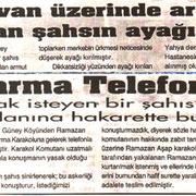 11 Temmuz 1958 Olayı - Kasabamızda 1958 yılında meydana gelen ve Burdur Gazetesinin arşiv yayınıdır.
