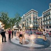 Un instante en la eternidad. La Rambla, Barcelona