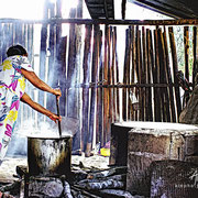 Del conuco al budare. La Gran Sabana, Venezuela (película negativa de 35 mm)