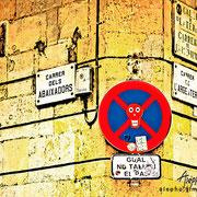 Arte callejero en el Barrio del Born. Barcelona (2)