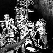 El trompetista de Sardanas. Versión alto contraste