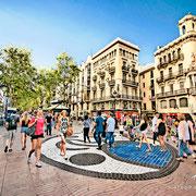La Rambla. Barcelona