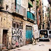 Mudándose al Casco histórico. Barcelona