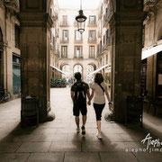 Paseo por el Gótico. Serie BCN Moments