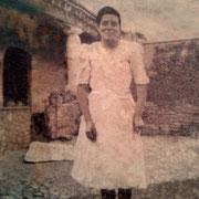 Luz Martinez Juarez (doña Luz) Año:1946, RESTAURADA