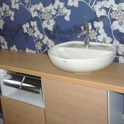 トイレ手洗いカウンター