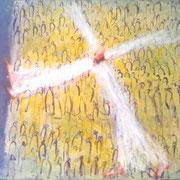 Вот иду исполнить волю Твою, Боже. 73х90 х.м. 2011г.