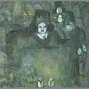 Прогулка у реки х.м. 73х90, 1997г. (в частной коллекции). Сомова Наталия Вячеславовна
