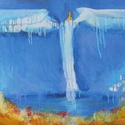 Ангел над городом х.м. 50х70 2000г. Сомова Наталия Вячеславовна