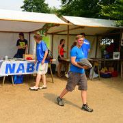 Der NABU Stand von K. Heinemann