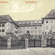 Aschersleben  1916  Krankenhaus