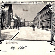 Aschersleben  1900  Markt