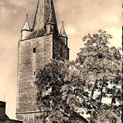 Aschersleben  1953  Johannisturm