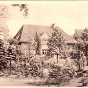 Aschersleben  1954  Poliklinik
