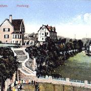 Aschersleben  1920  Postweg