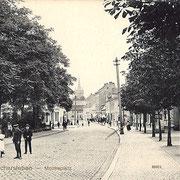 Aschersleben  1913  Moltkeplatz
