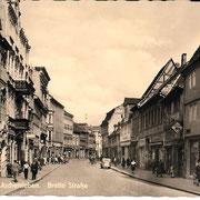 Aschersleben  1959  Breite Straße